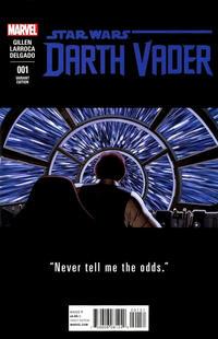 Cover Thumbnail for Darth Vader (Marvel, 2015 series) #1 [John Cassaday Teaser Variant]