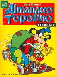 Cover Thumbnail for Almanacco Topolino (Arnoldo Mondadori Editore, 1957 series) #62