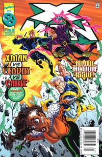 Cover Thumbnail for X-Man (Marvel, 1995 series) #14 [Newsstand Edition]