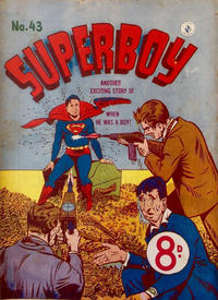 Cover Thumbnail for Superboy (K. G. Murray, 1949 series) #43 [Different price]