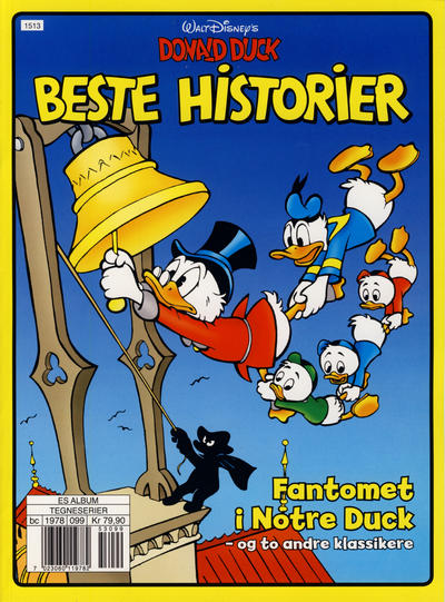 Cover for Donald Duck beste historier (Hjemmet / Egmont, 2014 series) #2 - Fantomet i Notre Duck