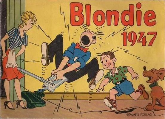 Cover for Blondie (Hjemmet / Egmont, 1941 series) #1947