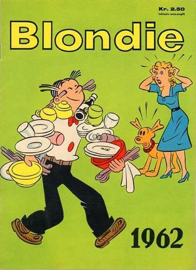 Cover for Blondie (Hjemmet / Egmont, 1941 series) #1962
