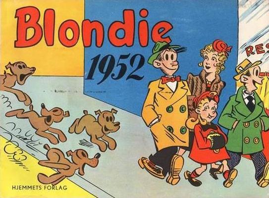 Cover for Blondie (Hjemmet / Egmont, 1941 series) #1952