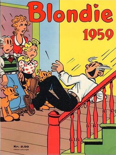 Cover for Blondie (Hjemmet / Egmont, 1941 series) #1959
