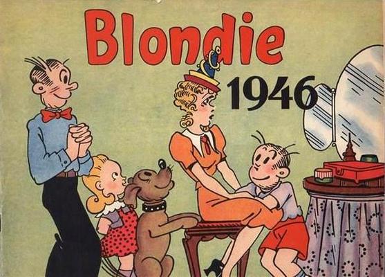 Cover for Blondie (Hjemmet / Egmont, 1941 series) #1946
