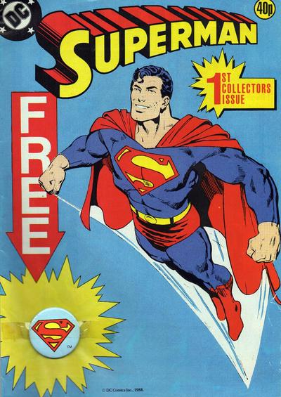 Cover for Superman (Egmont UK, 1988 series) #1