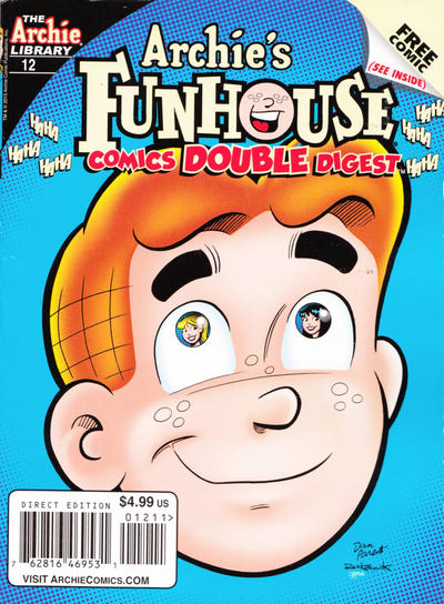 Cover for Archie's Funhouse Double Digest (Archie, 2014 series) #12
