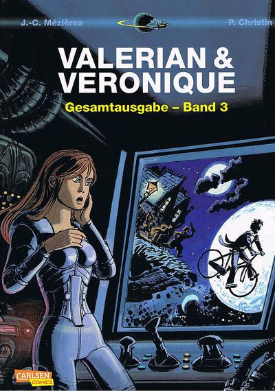 Cover for Valerian & Veronique Gesamtausgabe (Carlsen Comics [DE], 2010 series) #3