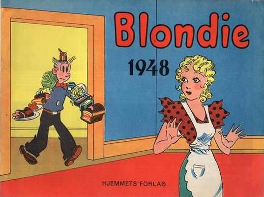 Cover for Blondie (Hjemmet / Egmont, 1941 series) #1948