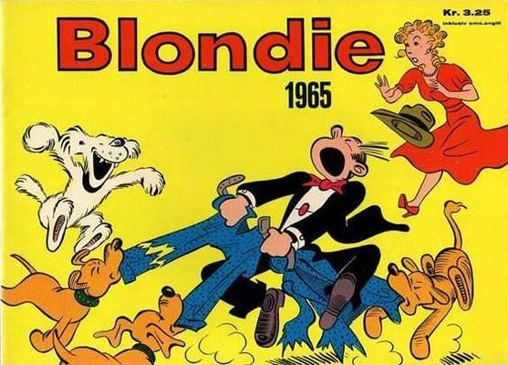 Cover for Blondie (Hjemmet / Egmont, 1941 series) #1965