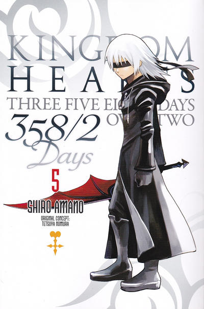 Cover for Kingdom Hearts: 358/2 Days [Kingdom Hearts: Three Five Eight Days Over Two] (Yen Press, 2013 series) #5