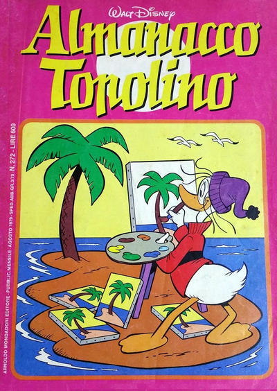 Cover for Almanacco Topolino (Arnoldo Mondadori Editore, 1957 series) #272