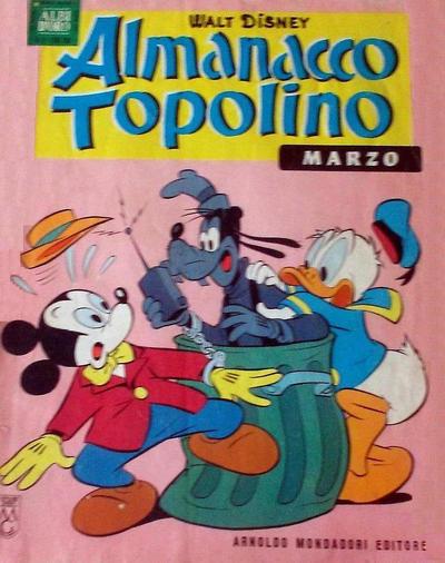 Cover for Almanacco Topolino (Arnoldo Mondadori Editore, 1957 series) #123