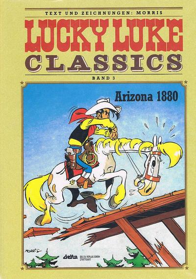 Cover for Lucky Luke Classics (Egmont Ehapa, 1990 series) #3 - Arizona 1880