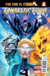 Cover for Fantastic Four (Marvel, 2014 series) #643