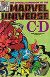 Cover Thumbnail for The Official Handbook of the Marvel Universe (1983 series) #3 [Direct]