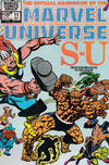 Cover Thumbnail for The Official Handbook of the Marvel Universe (1983 series) #11 [Direct]