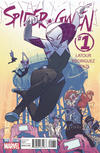 Cover Thumbnail for Spider-Gwen (2015 series) #1 [Variant Edition - Heroes Aren't Hard To Find Exclusive - Jason Latour Cover]