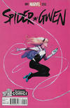 Cover Thumbnail for Spider-Gwen (2015 series) #1 [Variant Edition - Yesteryear Comics Exclusive - Jerome Opeña Cover]