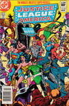 Cover for Justice League of America (DC, 1960 series) #212 [Newsstand]