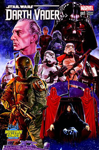 Cover Thumbnail for Darth Vader (Marvel, 2015 series) #1 [Mark Brooks Midtown Comics Exclusive Color Connecting Cover Variant]