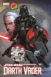 Cover Thumbnail for Darth Vader (Marvel, 2015 series) #1 [Dynamic Forces Exclusive Greg Land Variant]
