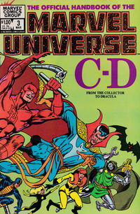 Cover Thumbnail for The Official Handbook of the Marvel Universe (Marvel, 1983 series) #3 [Direct]