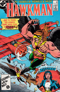 Cover Thumbnail for Hawkman (DC, 1986 series) #4 [Direct]