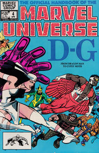 Cover Thumbnail for The Official Handbook of the Marvel Universe (Marvel, 1983 series) #4 [Direct]