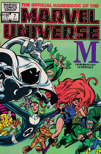 Cover Thumbnail for The Official Handbook of the Marvel Universe (Marvel, 1983 series) #7 [Direct]