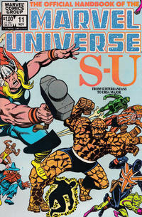 Cover Thumbnail for The Official Handbook of the Marvel Universe (Marvel, 1983 series) #11 [Direct]