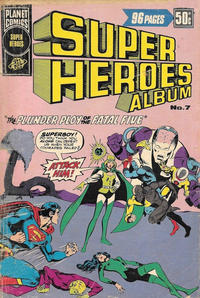 Cover Thumbnail for Super Heroes Album (K. G. Murray, 1976 series) #7