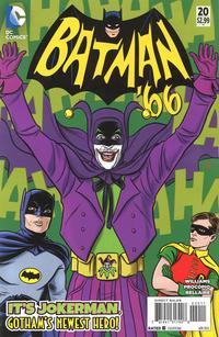 Cover Thumbnail for Batman '66 (DC, 2013 series) #20