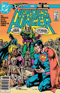 Cover Thumbnail for Heroes Against Hunger (DC, 1986 series) #1 [Newsstand]
