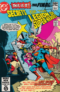 Cover Thumbnail for Secrets of the Legion of Super-Heroes (DC, 1981 series) #3 [Direct]