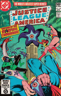 Cover Thumbnail for Justice League of America (DC, 1960 series) #189 [Direct Sales]