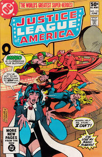 Cover Thumbnail for Justice League of America (DC, 1960 series) #191 [Direct Sales]