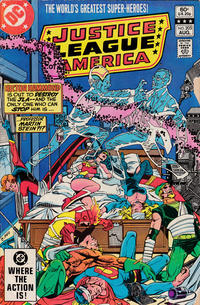 Cover Thumbnail for Justice League of America (DC, 1960 series) #205 [Direct Sales]