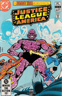 Cover Thumbnail for Justice League of America (DC, 1960 series) #206 [Direct Sales]