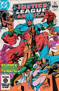 Cover Thumbnail for Justice League of America (DC, 1960 series) #216 [Direct-Sales]
