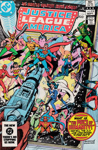 Cover Thumbnail for Justice League of America (DC, 1960 series) #218 [Direct Sales]