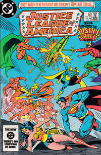 Cover Thumbnail for Justice League of America (DC, 1960 series) #232 [direct-sales]