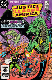 Cover Thumbnail for Justice League of America (DC, 1960 series) #227 [direct-sales]