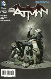 Cover for Batman (DC, 2011 series) #39 [La Mole Comic Con Internacional Cover]
