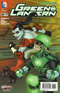 Cover for Green Lantern (DC, 2011 series) #39 [Direct Sales]