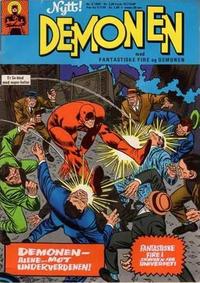 Cover Thumbnail for Demonen (Serieforlaget / Se-Bladene / Stabenfeldt, 1969 series) #5/1969