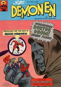 Cover Thumbnail for Demonen (Serieforlaget / Se-Bladene / Stabenfeldt, 1969 series) #5/1970