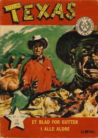 Cover Thumbnail for Texas (Serieforlaget / Se-Bladene / Stabenfeldt, 1953 series) #47/1961