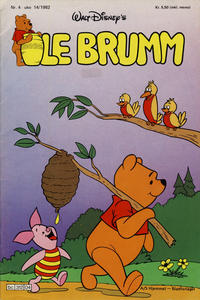 Cover Thumbnail for Ole Brumm (Hjemmet, 1981 series) #4/1982